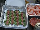 The finger-foods placed very well among the guests